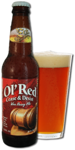 Photo of Ol Red Cease and Deist beer