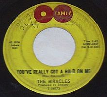 "Photo of record ""You've Reallly Got a Hold on Me"""