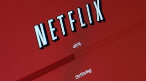 Netflix buffering screen