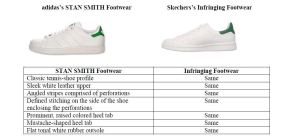 adidas v. Sketchers Elements
