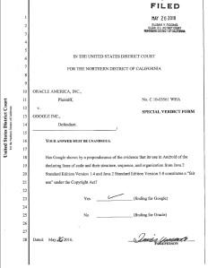 Verdict Form