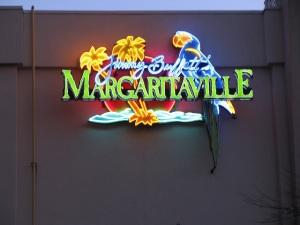 Neon sign Margaritaville